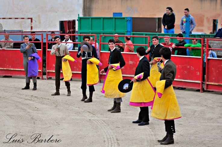 peñas taurinas | Fotografia taurina Luis Barbero.: V Encuentro de Escuelas Taurinas ...