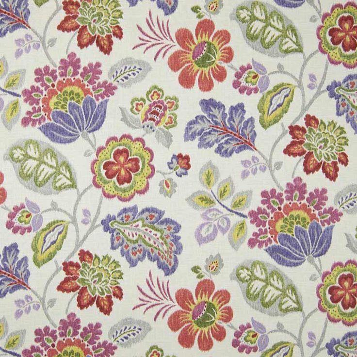 Warwick Fabrics : LUMLEY, Colour VIOLET
