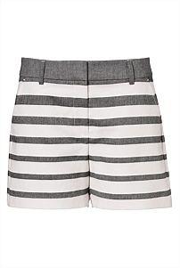 Stripe Textured City Short