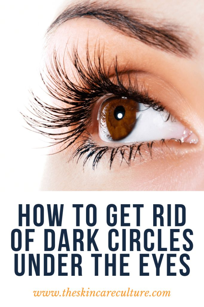 How To Get Rid Of Dark Circles Under The Eyes #darkcircle ...