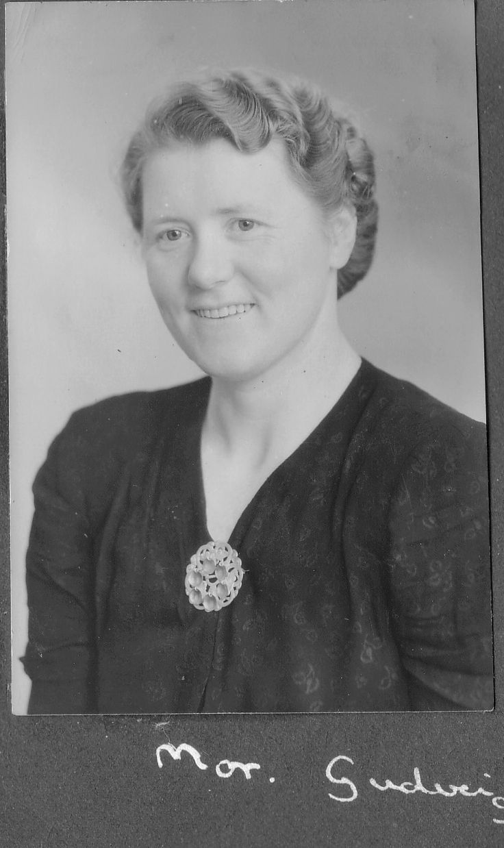My beautiful grandmother Gudveig (Hølland) Søyland