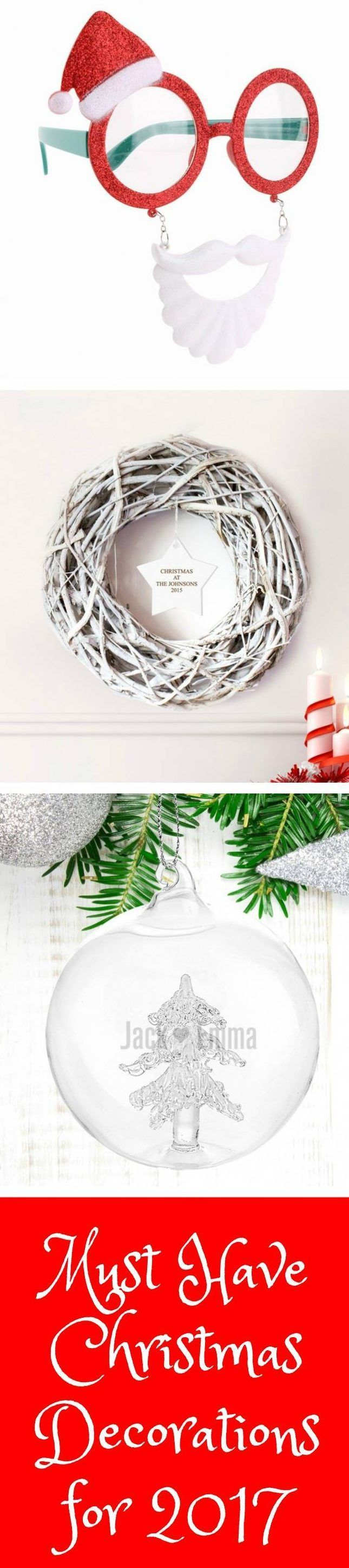 Must Have Christmas Decorations for Christmas 2017 The hottest and coolest Christmas decorations