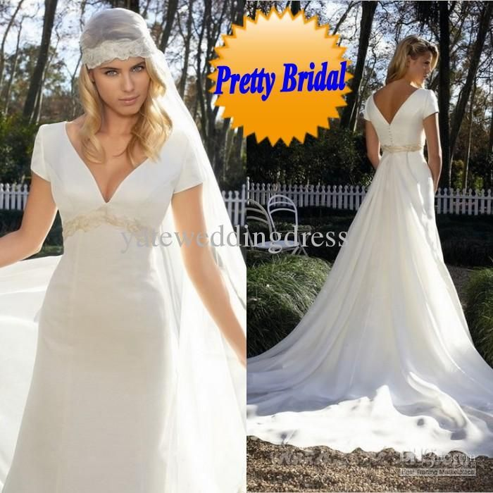 Wholesale 2014 Sexy Anna Campbell Backless Wedding Ball Gowns Cheap Beach Plus Size Wedding Dresses Beads Capped Sleeves Vintage Wedding Dresses Lace, Free shipping, $102.88/Piece | DHgate Mobile
