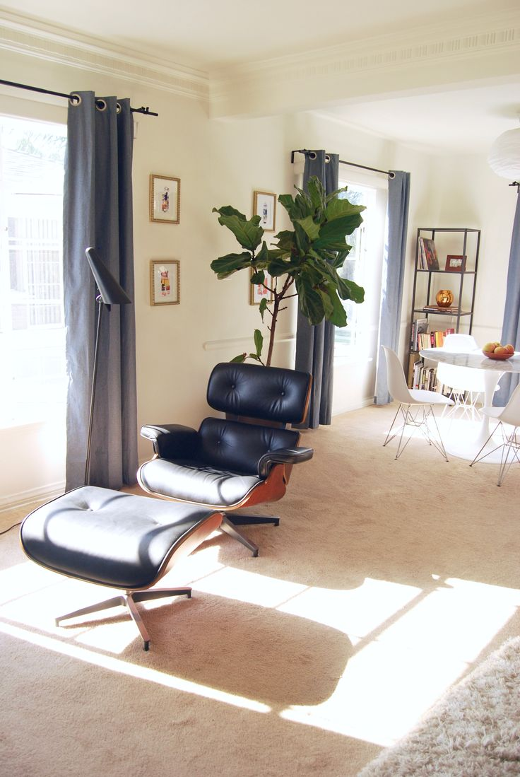 Best 25+ Eames style lounge chair ideas on Pinterest | Eames, Vitra chair  and Charles eames