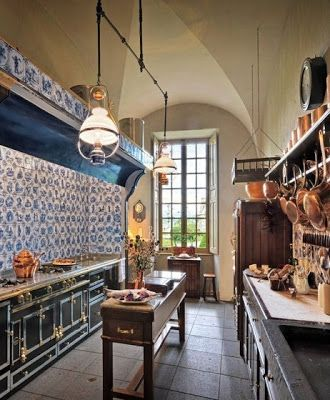 Fransız country mutfak