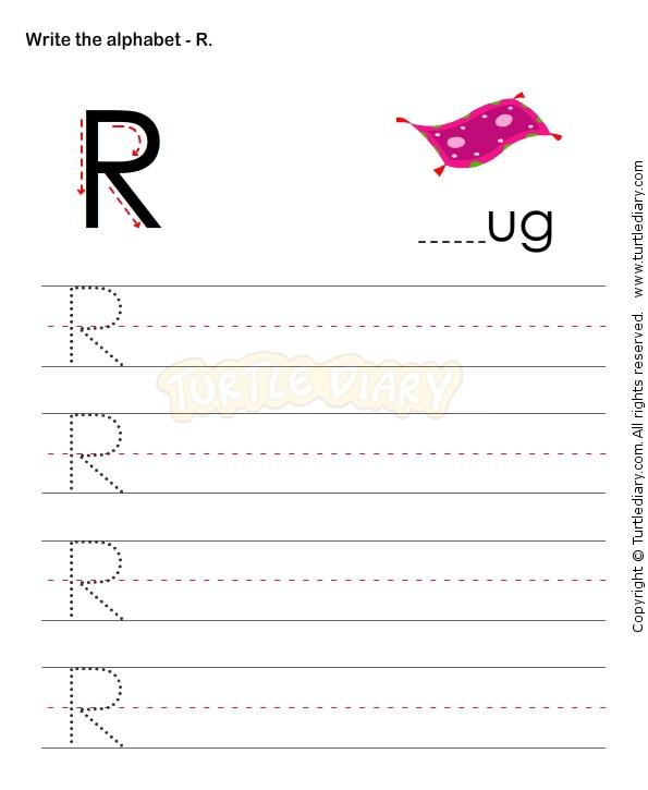 Alphabet Capital Letter