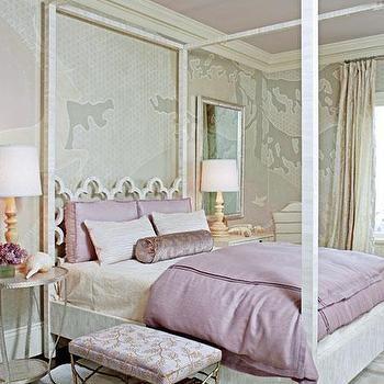 Quatrefoil Headboard, Transitional, bedroom, Traditional Home