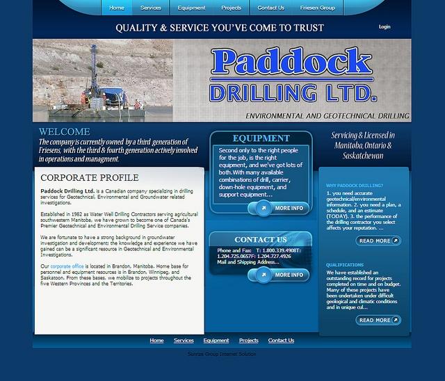 Paddock Drilling by SunrizeGroup,  http://sunrize.bix