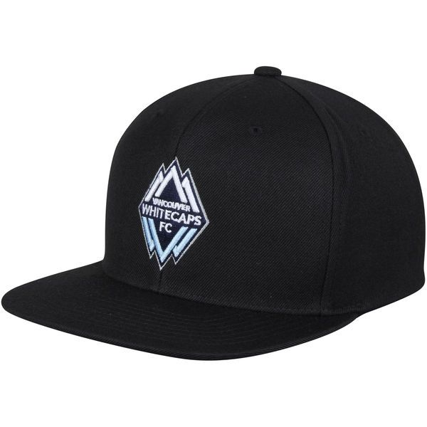 Vancouver Whitecaps FC Mitchell & Ness MVP Classic Adjustable Snapback Hat - Black - $29.99