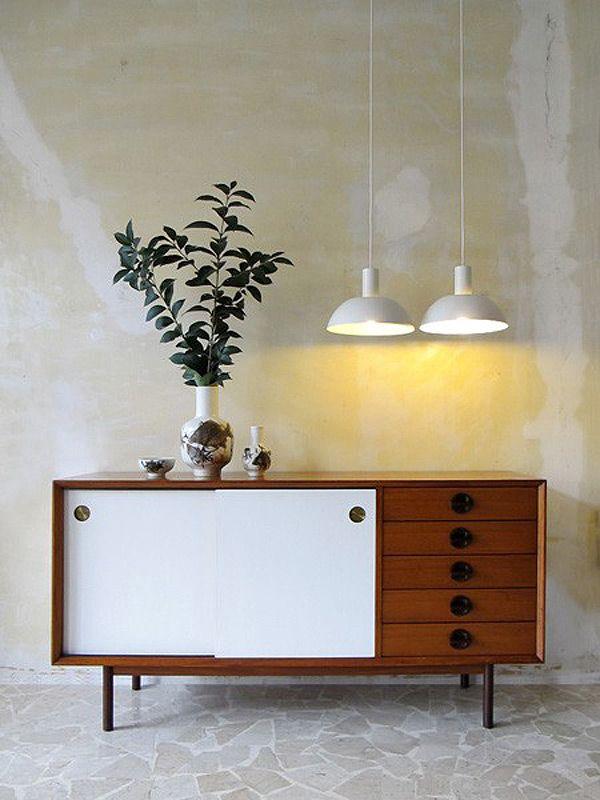 Mid Century Modern Credenza | Via Plastolux                                                                                                                                                                                 More