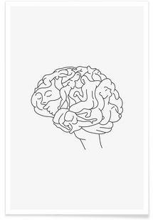 Brainstorm – Wuukasch – Premium Poster   – Abbildungen