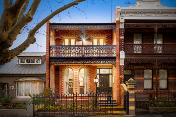The not-so-typical terrace in North Melbourne
