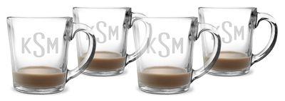 Monogrammed Coffee Mug Set