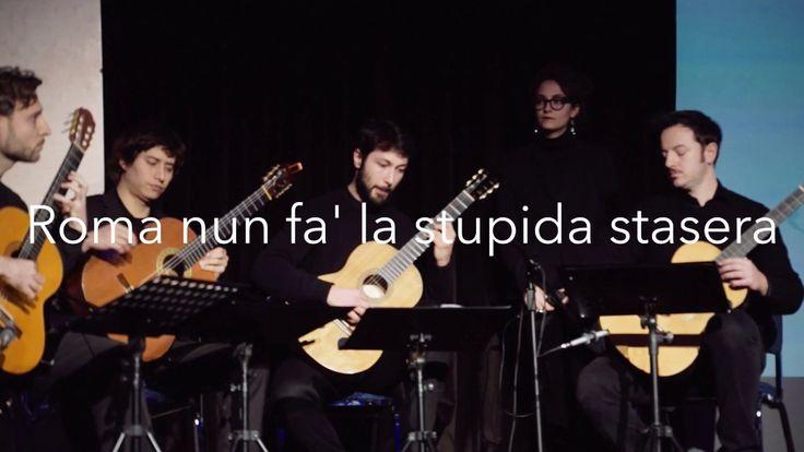 ROMA NUN FA' LA STUPIDA STASERA Quartetto GLI OTTOMANI con Giulia Marinelli