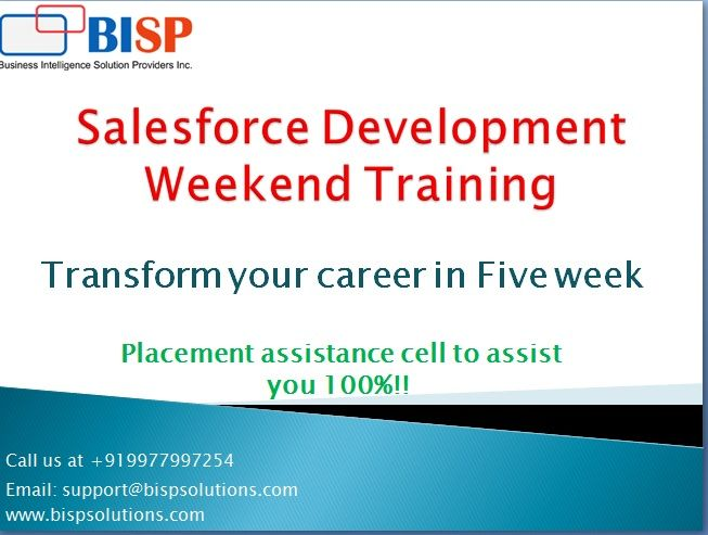 BISP is an IT Training and Consulting company. We are subject matter experts for DHW and BI technologies.   For training inquiry, you may reach to me at anwarul@bisptrainings.com.