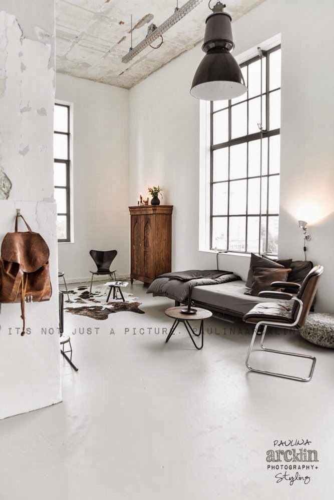 vosgesparis: An amazing industrial loft in the Netherlands | Out of the blue