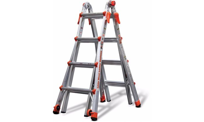 Little Giant 17' & 22' Multi-Purpose Ladders: Little Giant 17' & 22' Multi-Purpose Ladders