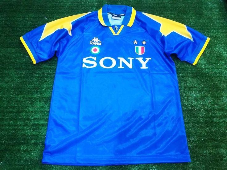 Classic Football Shirts Juventus Away Final Champions League 1996 Maglia Size M #Kappa #Jerseys