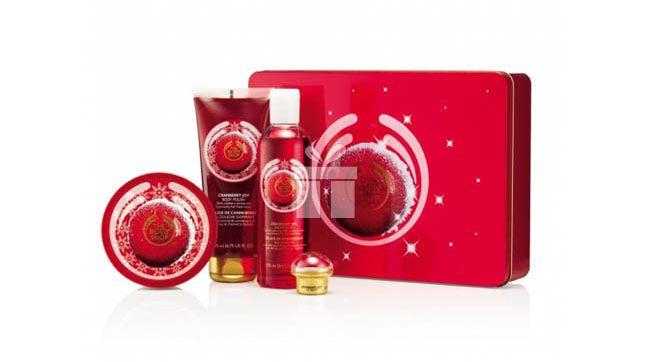 Deluxe Cranberry Joy #cosmetice #thebodyshop #cadouri #cadourifemei