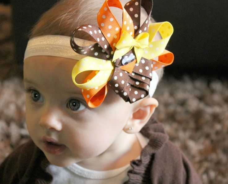 Turkey Headband-- making this for my little miss..and maybe my two nieces...
