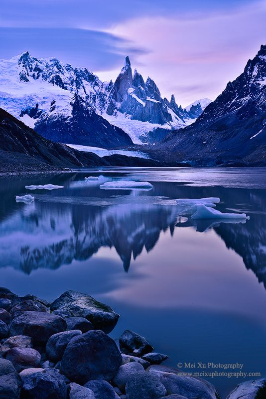 Cerro Torre Reflection by zhonghua meng ~ Patagonia, Argentina*