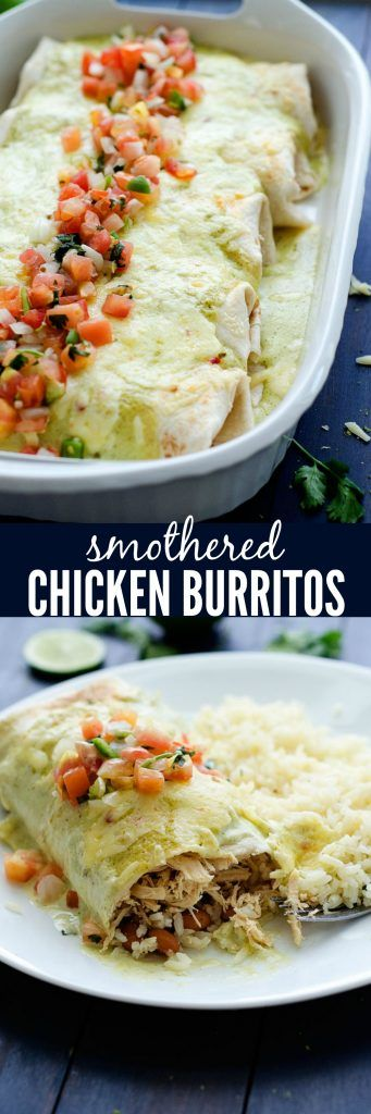 These flavor-packed burritos are so incredible! My family's new favorite :)