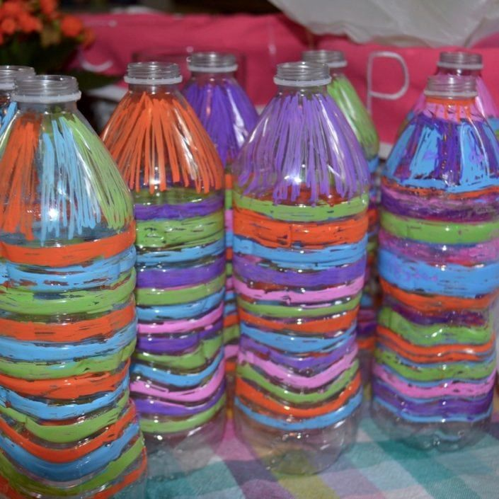 How To Make A Recycled Plastic Water Bottle Sun Catcher Recycled