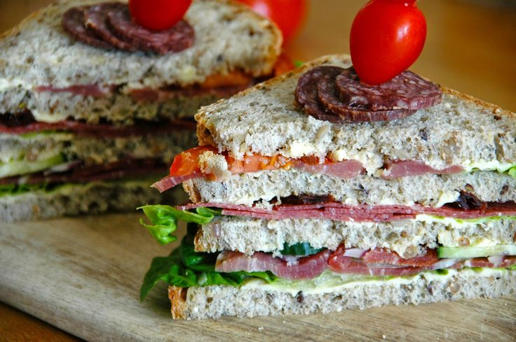 Sandwich med spekemat