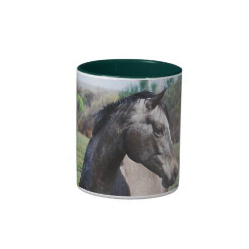 Appaloosa horses coffee mug