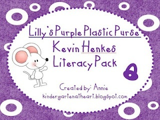 Lillys Purple Plastic Purse by Kevin Henkes Literacy Packet