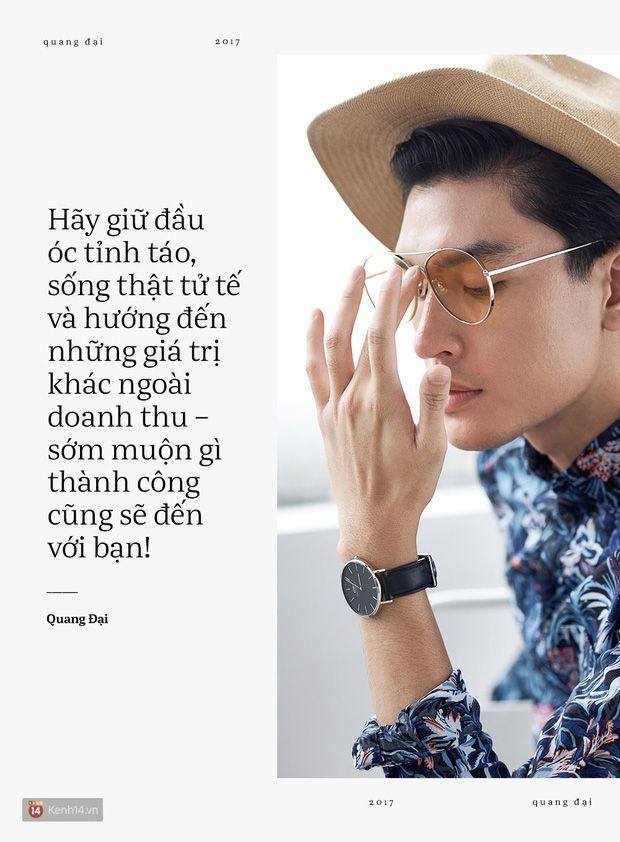 Quang Đại - Đấy là chàng trai trong mơ của mọi cô gái, không chỉ bởi gương mặt đẹp và chiều cao 1m88 - Ảnh 8.