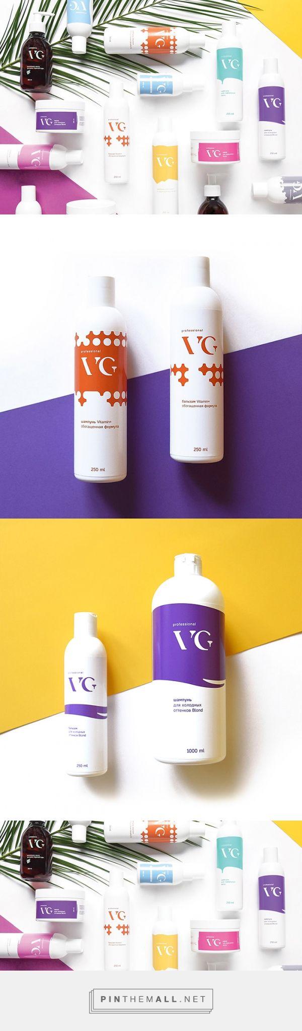 VG professional /  professional hair cosmetics / Designed by Yartceva Masha
