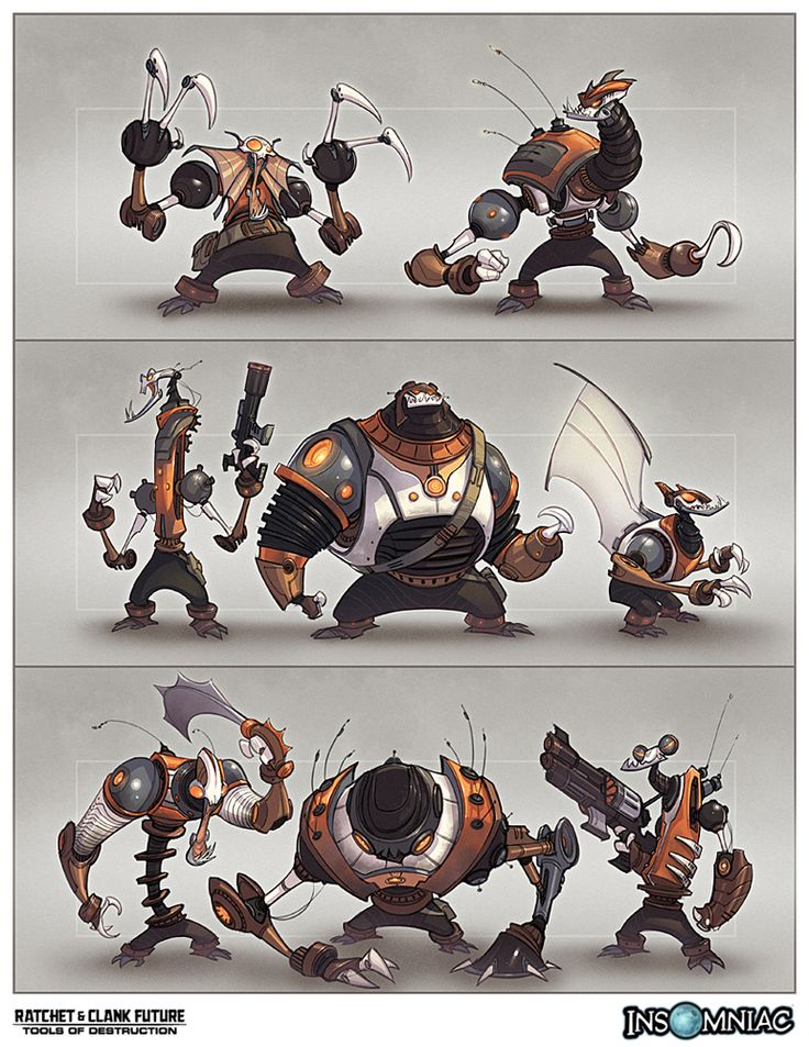 Artwork from Ratchet & Clank Future : Tools of Destruction - Ratchet Galaxy - The Ultimate Ratchet & Clank Resource