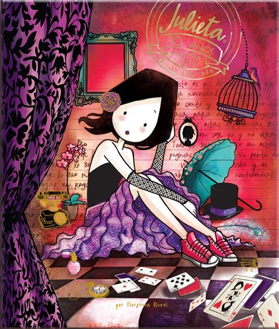 ¡Ya está a la venta la nueva Agenda Julieta 2013!  Encuéntrala en Chile en Jumbo, Feriamix, Librería Antártica y Feria Chilena del Libro.