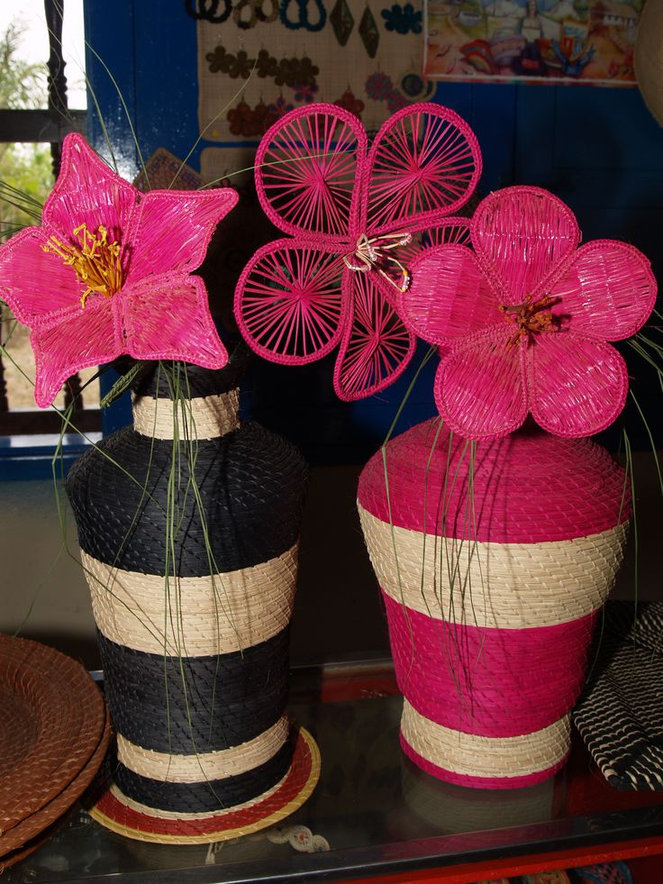 Artesanía en Palma de Iraca