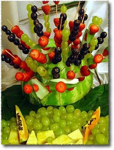 179 best Fruit table decor images on Pinterest | Creative food ...