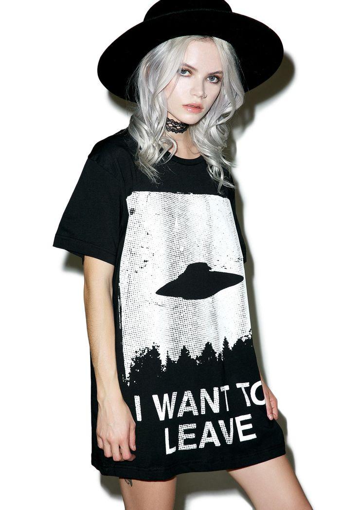 Disturbia | I Want To Leave T-Shirt