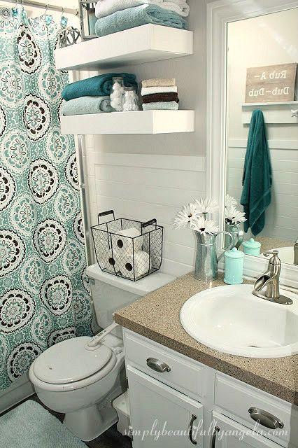 Best 25+ Small bathroom decorating ideas on Pinterest Bathroom - bathroom decorating ideas on a budget