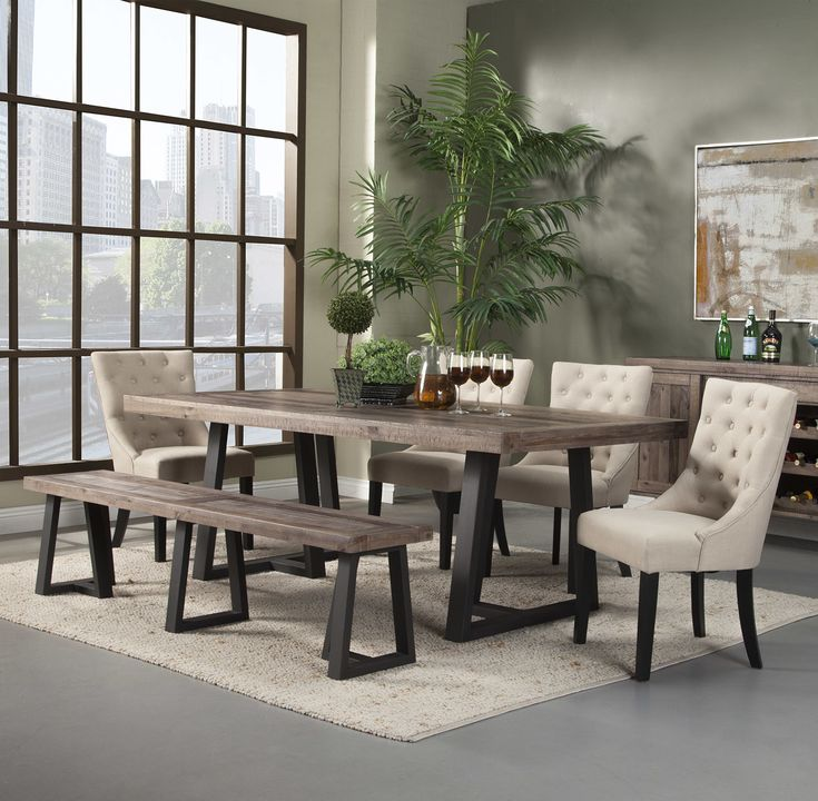 Modern Dining Room Sets: Best 25+ Modern Farmhouse Table Ideas On Pinterest