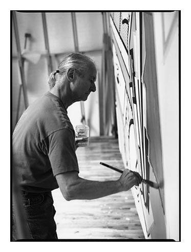 Patrick Demarchelier, Roy Lichtenstein, New York 1993