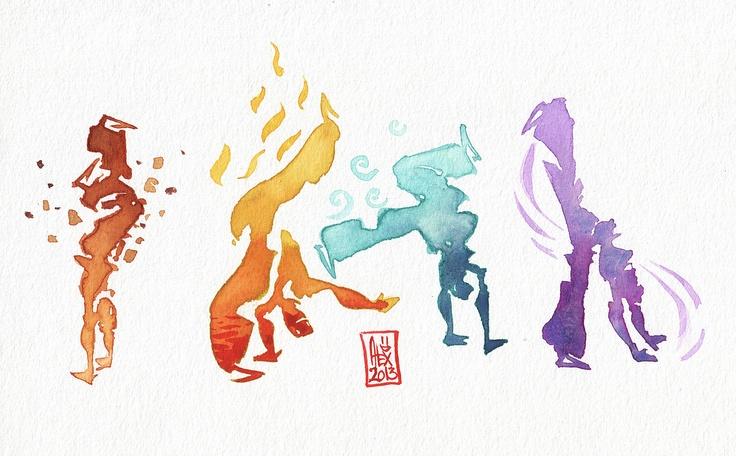 Encres : Capoeira...vatar :D - 263 [ #capoeira #watercolor #illustration ]