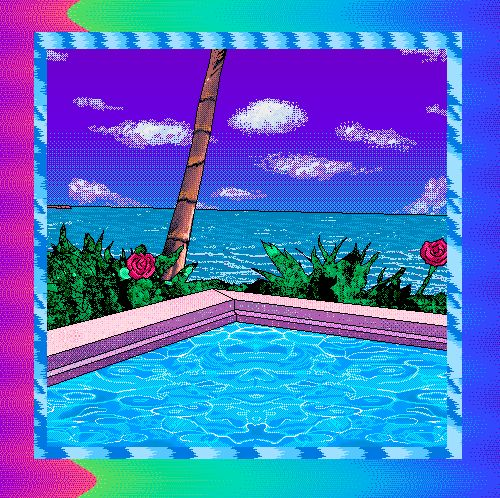 Kawaii Island Go Vacation: 36 Best Images About Vaporwave Colorful On Pinterest
