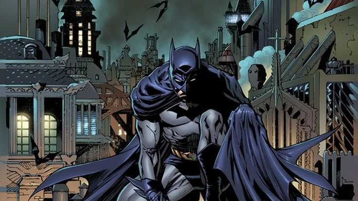 This image is interesting because you see one of the darkest moments in batman. This looks like it's from a graphic novel created after the 1990s. N.N