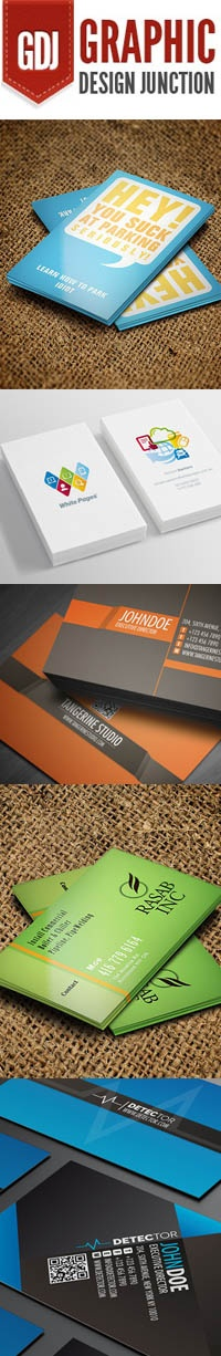 Graphicdesignjunction 2012 09 Professionally Designed Business Card DesignBusiness