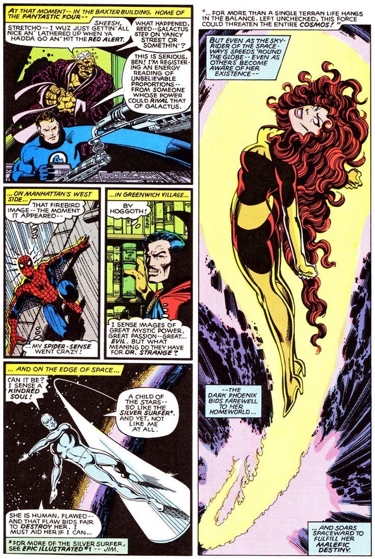 Dark phoenix x men comic