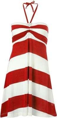 French Connection Sun & Sean Striped Beach Dress / Wantering #Waterpark #BeachNeeds