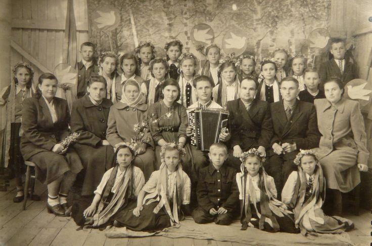 Фестиваль молоді, травень 1957 р. Березне ( Рівненська обл. )