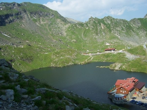 Fagaras Mountains - Romania. Baleas Lake. We started from the lake and hiked a complete circuit around it from the tops of the mountain ridges. Amazing!