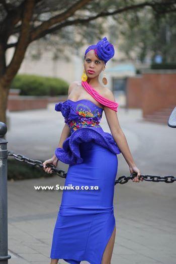 Stunning Tsonga Traditional Dress