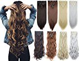 Clip in on Double Weft Hair Extensions 9 Colors review
